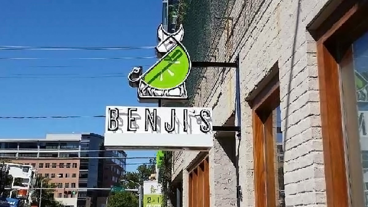 Benji's Sign Built And Installed By Texas Custom Signs