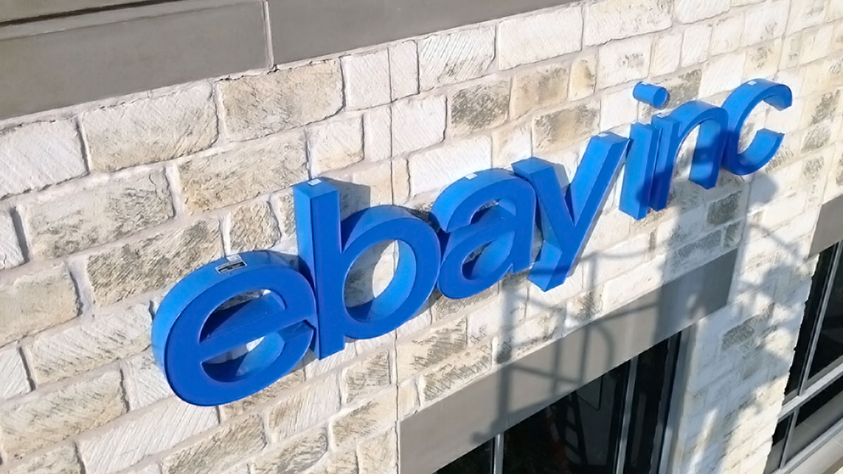 EBay Sign Built And Installed By Texas Custom Signs
