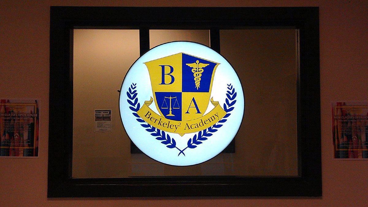 Berkeley Academy Sign Built And Installed By Texas Custom Signs