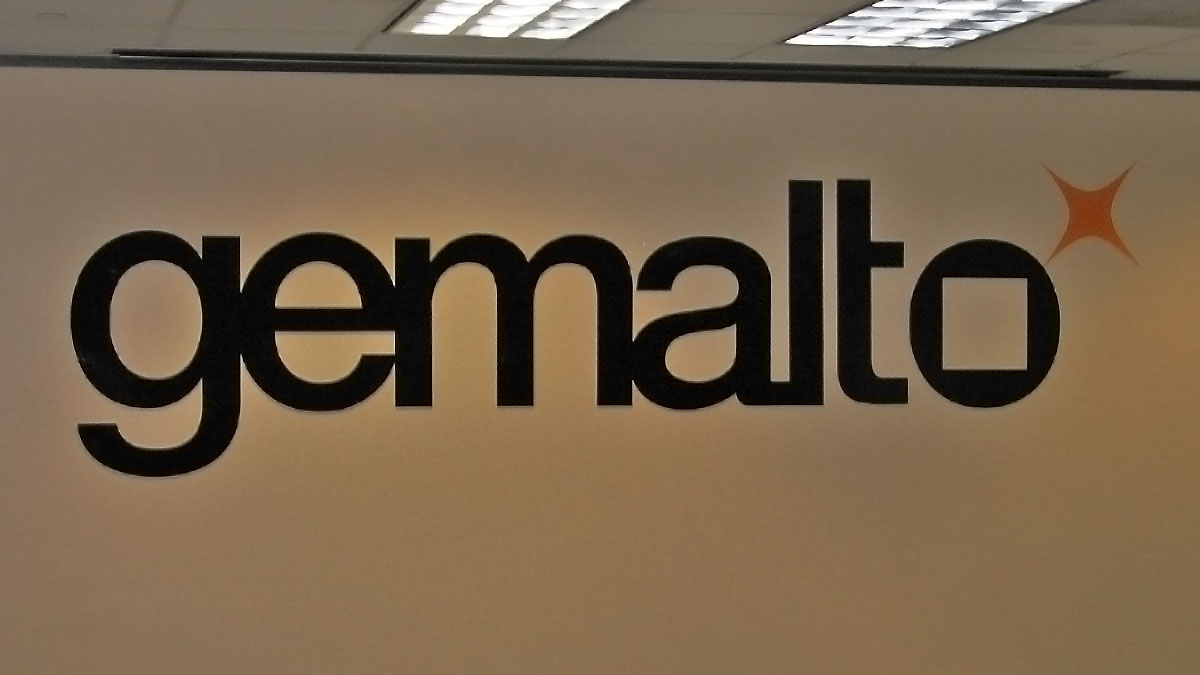 Gemalto Sign Built And Installed By Texas Custom Signs