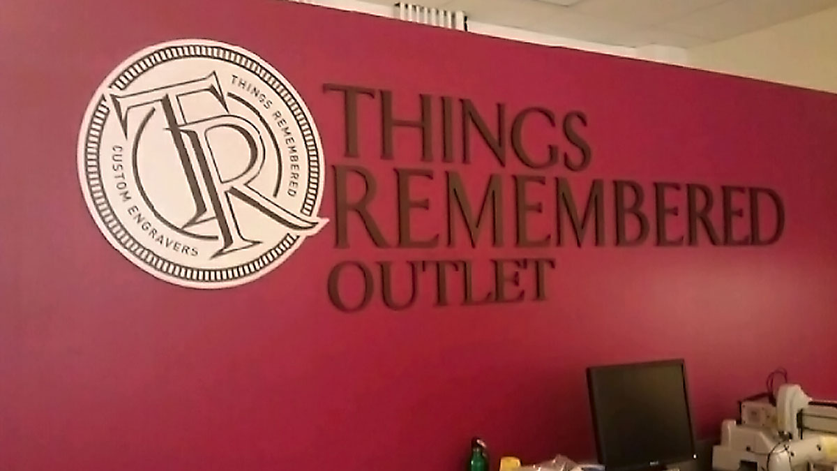 Things Remembered Sign Built And Installed By Texas Custom Signs