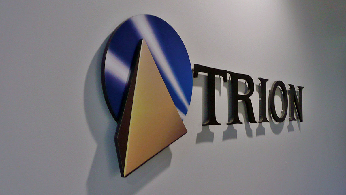 Trion sign built and installed by Texas Custom Signs