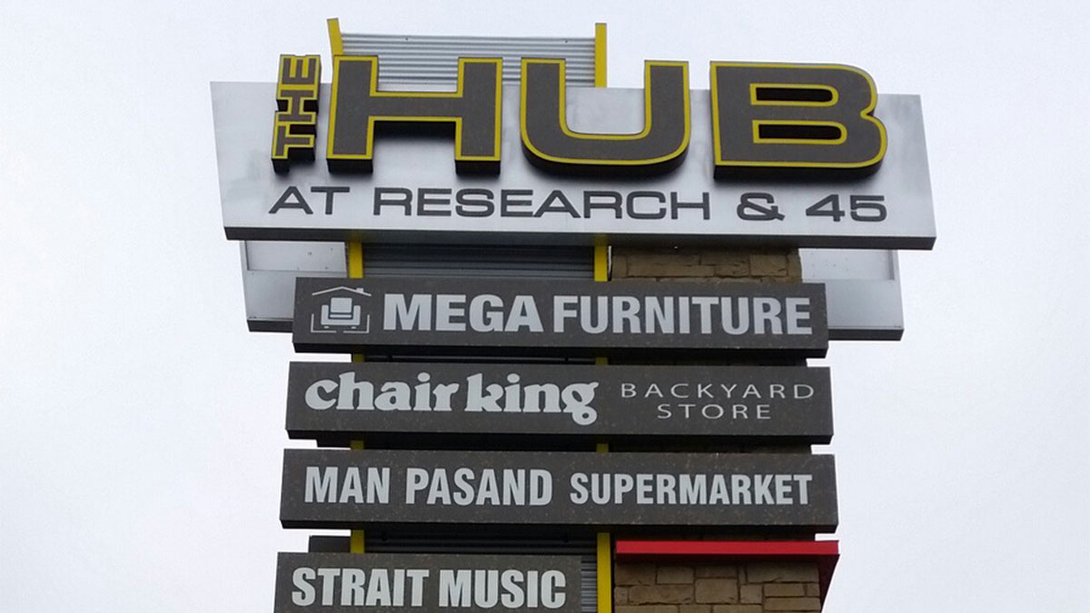 The Hub - Texas Custom Signs