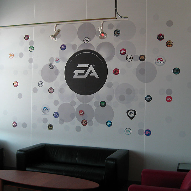 EA Games - Another Unique Sign From Texas Custom Signs