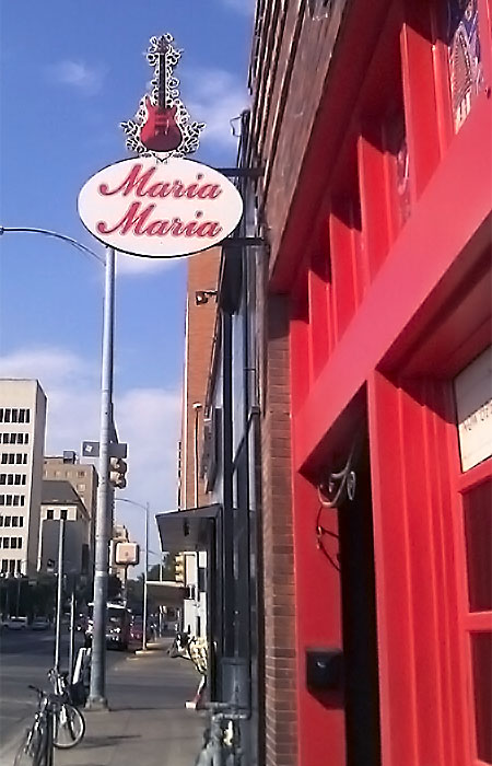 Maria Maria - Another Unique Sign From Texas Custom Signs