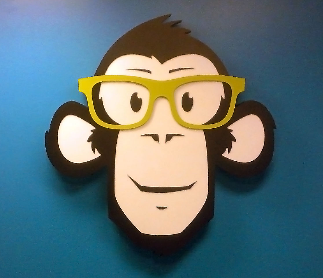 Monkey Boy - Another Unique Sign From Texas Custom Signs