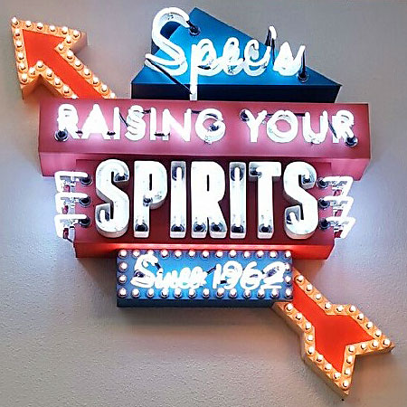 Spec's Neon - Another Unique Sign From Texas Custom Signs